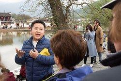 Nature Hsu, our Huangshan/Hongcun guide