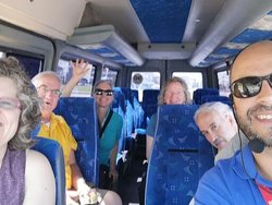 City Tour service through Montevideo with American and Canadian toursits