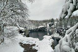 Обитатель горного парка Рускеала