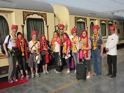 Luxury train from delhi to chennai by Tour By Jennifer with Mr. Daniel
