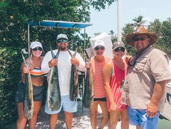 Offshore Dolphin fishing trip