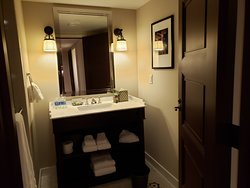 Pictures of room and bathroom