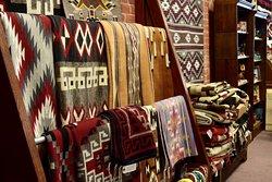 Handwoven Navajo rugs