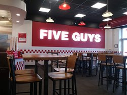 Five Guys, South Nevada, Colorado Springs. Colorado