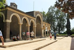 4.  Mount of Beatitudes; the church