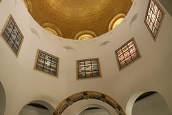 6.  Mount of Beatitudes; church interior