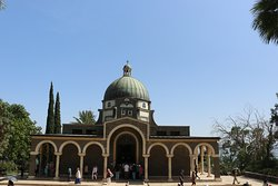 3.  Mount of Beatitudes; the church