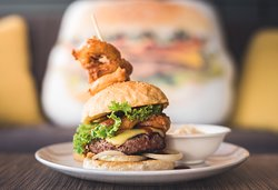 BBQ Onion Burger