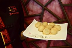 Golden sesame and rice balls. Once you come to JIANG NAN Chinese Restaurant, you should try it!