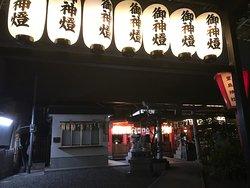駅ナカの神社