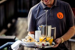 boon hotel + spa - breakfast delivered to your room