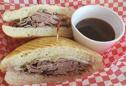 Thinly slice Roast Beef make a wonderful French Dip