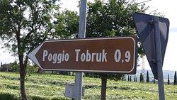 indicazione per Poggio Tobruk