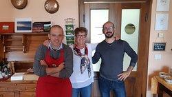 foto ricordo con i fratelli Marco e Federico