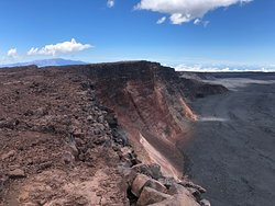 Mauna Loa Caldera from True Summit