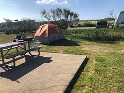 This is one of the campsite (C16) - Just few steps to the beach.
