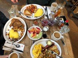 Great breakfast in a really fun venue