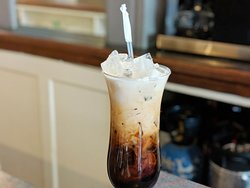 Our Thai Iced Tea and Thai Ice Coffee are refreshing beverages at Om Cooking. The ideal drink for this warmer weather!