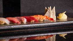 Sushi platter - pre-theatre menu
