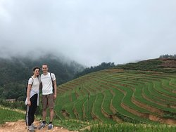 Trekking sapa with my friends from Germany