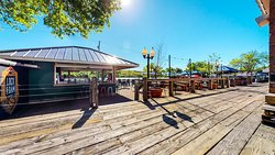 Our patio is the largest in the Twin Cities metro