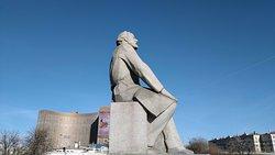 Statue of Konstantin Tsiolkovskiy