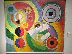 """""""Rythme, joie de vivre"""" (1930) par Robert DELAUNAY (1865-1941)"""