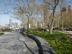 Views along Battery Park