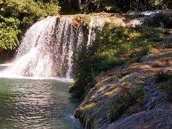 Fotos da Estância Mimosa, na cidade de Bonito, lugar de extrema beleza: uma das cachoeiras