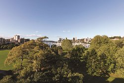vibe hotel rushcutters sydney master suite balcony view
