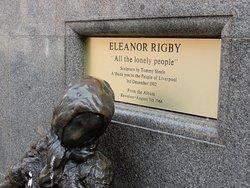 Eleanor Rigby Statue.