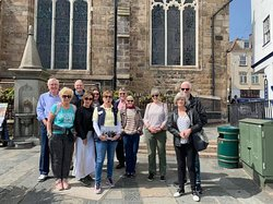 First Town walk of the season , April 2019