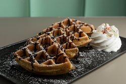 waffle homemade con topping a tua scelta