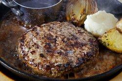 ランチで人気!神戸牛ハンバーグ