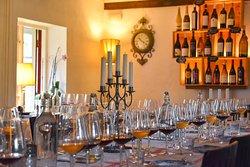 Restaurang med event och vinprovningar.