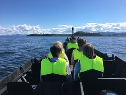 A sunny day on the Fjord!