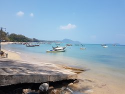 Rawai beach (opposite from hotel)