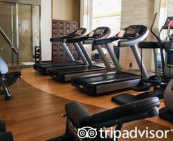 Fitness Center at the Shangri-La Hotel, Tokyo