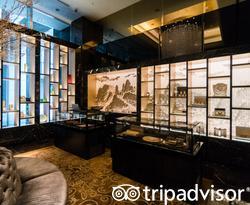 Lobby at the Shangri-La Hotel, Tokyo