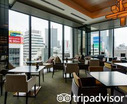 Lounge at the Oakwood Premier Tokyo