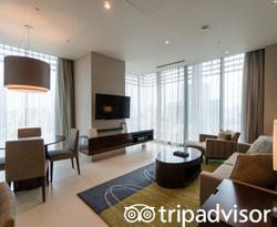The Two-Bedroom Apartment at the Oakwood Premier Tokyo