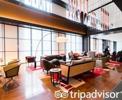 Lobby at the Hyatt Centric Ginza Tokyo