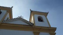 Detalhes da fachada da Basílica de Nossa Senhora da Piedade