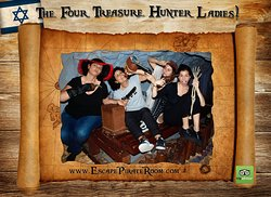 The four treasure hunter ladies
