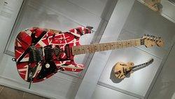 Eddie Van Halen's Frankenstein guitar.