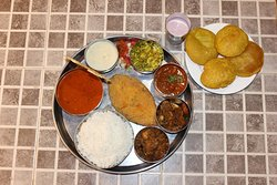 Malwani Special Thali With Tisreo ( Lunch Session Fri & Sat )