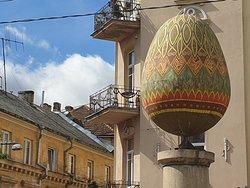 Sculpture Easter Egg
