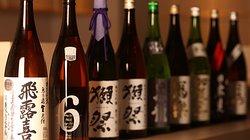 日本酒をはじめ、ドリンクメニューも豊富にご用意しております。