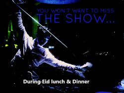don't miss the pleasurable celebration with astounding tea master show, enjoy the entertainment during Eid in Toki Riyadh.