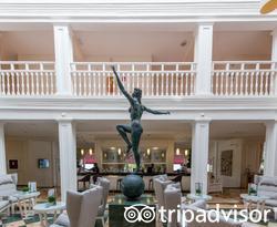 Lobby at the Luxury Bahia Principe Samana